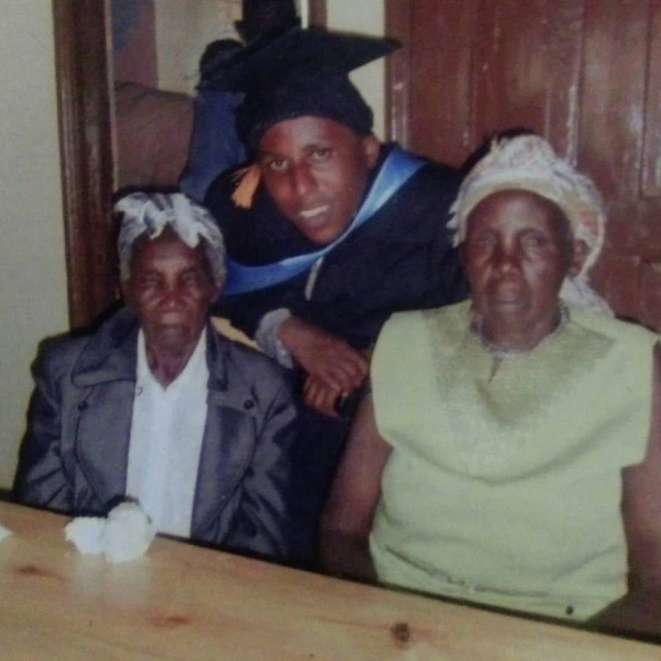 My grandmothers on my graduation day