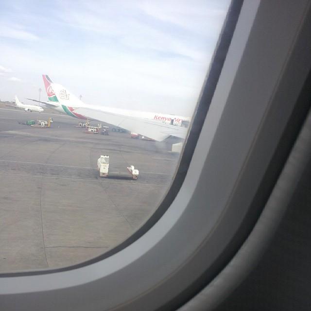 window seat flight JKIA