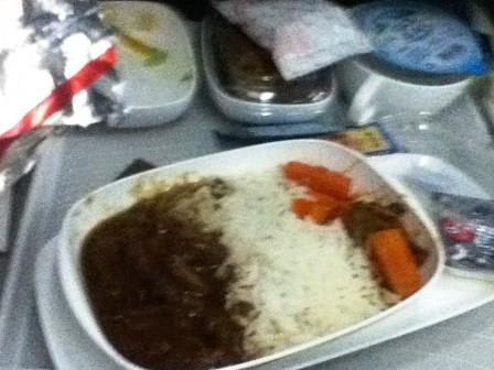 In flight food