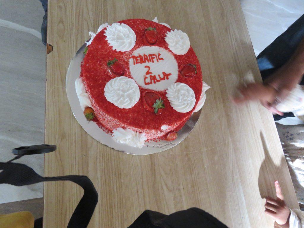 Calla birthday cake