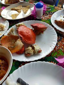 crab seafood wasini kenya coast