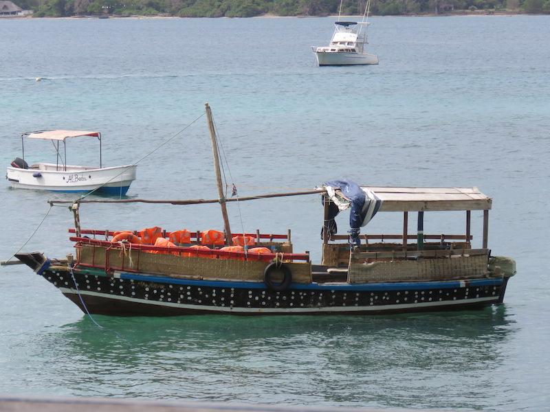 wasini boat